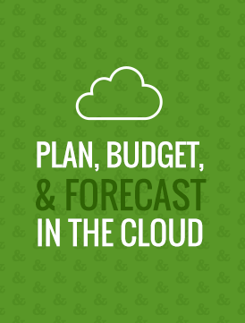 tidemark plan budget and forecast in the cloud