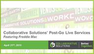 Post Go-Live Services Webinar Featuring Freddie Mac