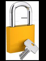 3D padlock and key v2