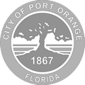 City of Port Orange - customer grayscale logo