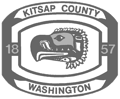 Kitsap County - customer grayscale logo