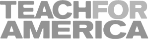 Teach for America - customer grayscale logo