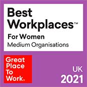 Website   Best Workplaces for Women 2021