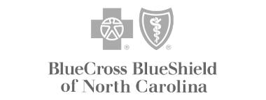 Blue Cross Blue Shield NC - customer grayscale logo