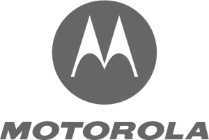 Motorola logo gray transparent